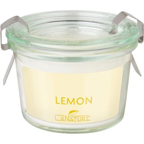 LaNature Duftkerze im Weckglas Lemon