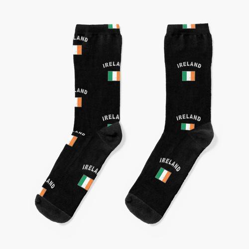 Irland irisch Flagge Fahne Socken