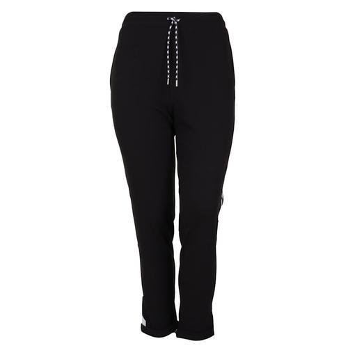 Hose mit Kontrastverarbeitung Doris Streich schwarz/weiß