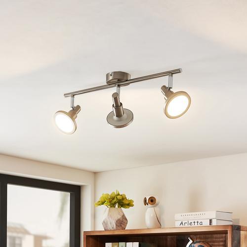 Lindby Unnur LED-Strahler, 3-flammig und länglich