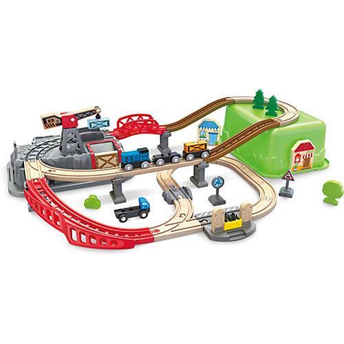 Eisenbahn-Baukasten-Set