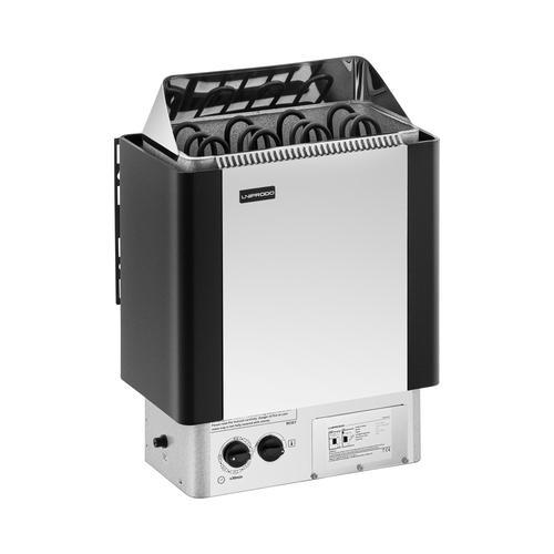Uniprodo Saunaofen - 6 kW - 30 bis 110 °C - inkl. Steuerung UNI_SAUNA_S6.0KW