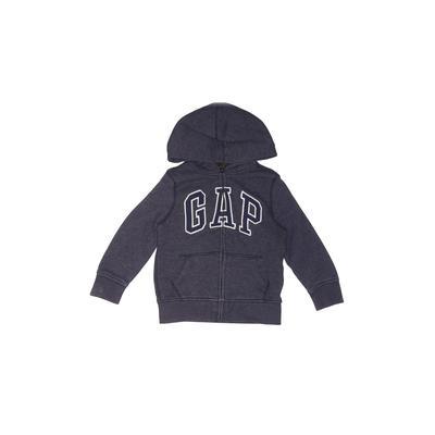 Gap Kids Zip Up Hoodie: Blue Sol...