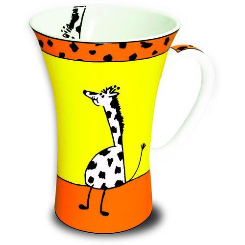 Könitz Porzellan Mega Mug, Tiergeschichten Giraffe