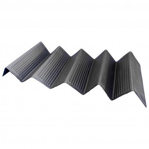 Basic Nature - Isomatte Lightweight - Isomatte Gr 185 x 55 x 1 cm Schwarz/Grau