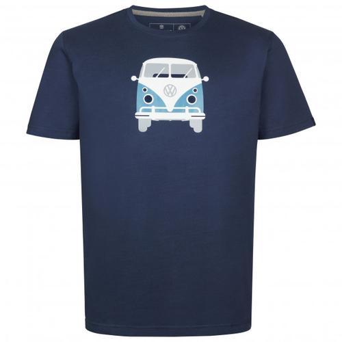 Elkline - Methusalem - T-Shirt Gr XL blau/schwarz