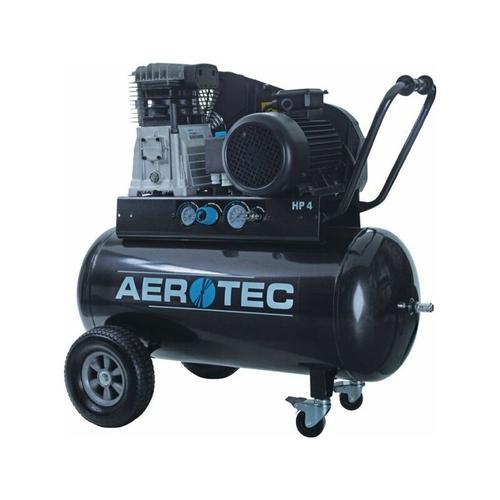 ® Druckluft-Kompressor 600-90 Liter TECH (3 kW, max. 10 bar, 90 Liter Kessel) Stromanschluss 400 V