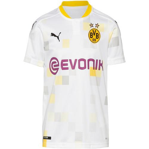 PUMA Borussia Dortmund 20-21 3rd Trikot Kinder in puma white, Größe 176