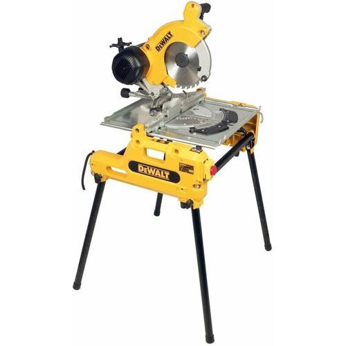 DeWALT DW743N-QS Tisch-, Kapp- und Gehrungssäge 250 mm - leicht tansportabel
