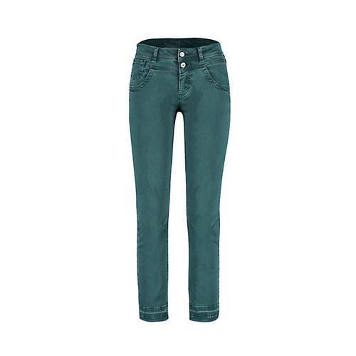 Deerberg Damen Slim-Fit-Jeans Saroja libellenblau-washed