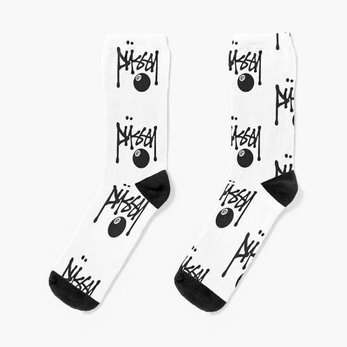 Stüssy Pussy Logo Socken