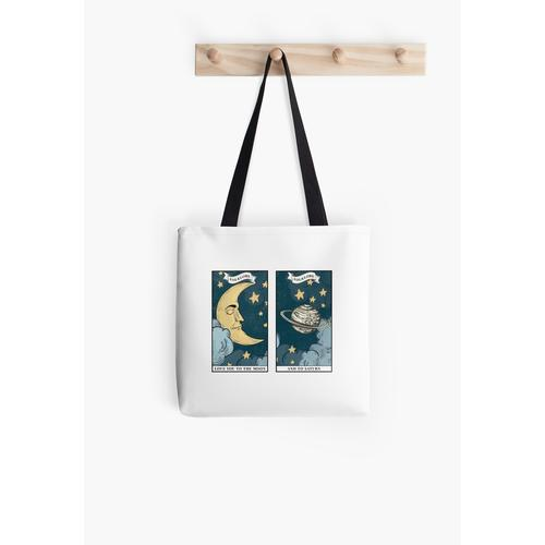 love you to the moon and back Tasche