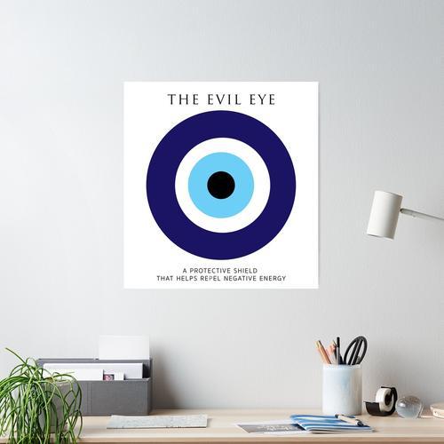Symbol des Schutzes. Poster