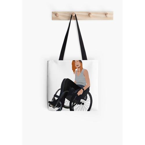 Chanda - Baby mit Mobilitätshilfe Tasche
