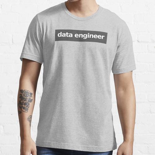 Dateningenieur - Grau Essential T-Shirt