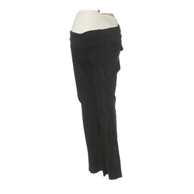 Liz Lange Maternity for Target Khaki Pant: Black Solid Bottoms - Size 2 Maternity