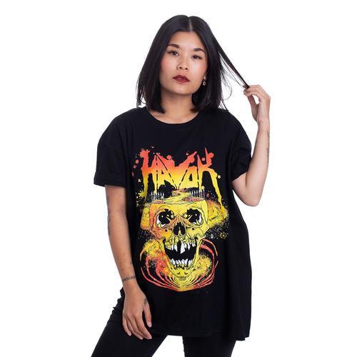 Havok - Psychedelic Skull - - T-Shirts