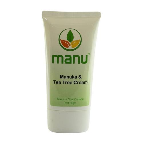 Manuka & Teebaumöl Creme - 50ml Creme - Bei Krätze und Scabies