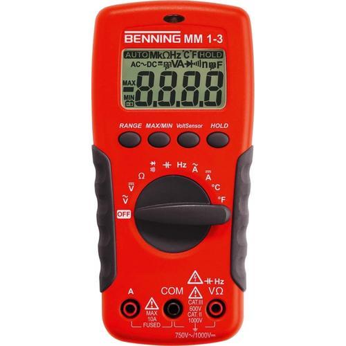 Benning Digital Multimeter MM1-3 044083