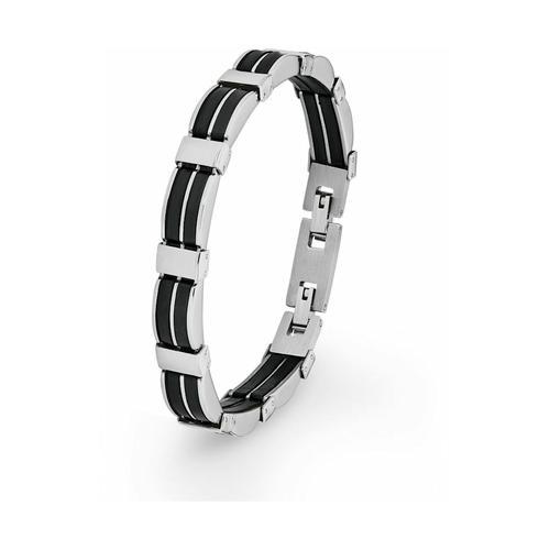Armband für Herren, Edelstahl amor Schwarz