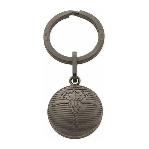Schlüsselanhänger für Herren, Edelstahl JOOP! Silber