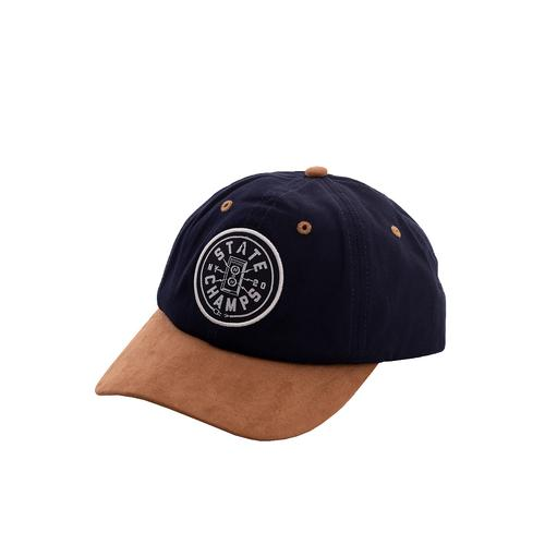 State Champs - Cat Unplugged Navy - Caps