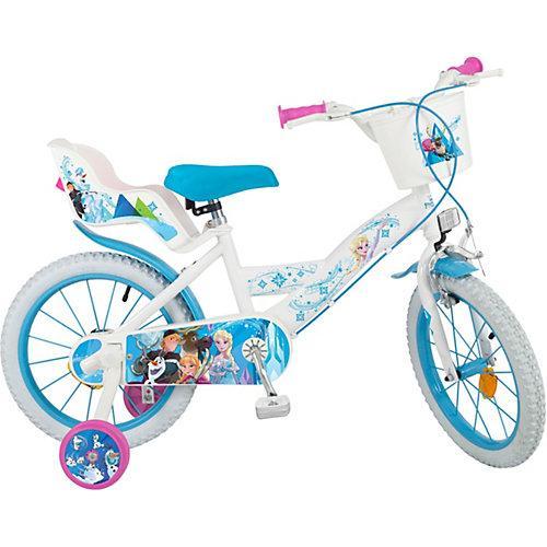 Fahrrad Disney Eiskönigin, 16 Zoll türkis