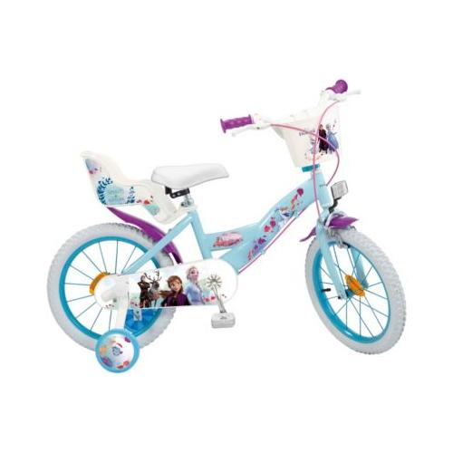 Fahrrad Disney Eiskönigin II 16 Zoll türkis-kombi