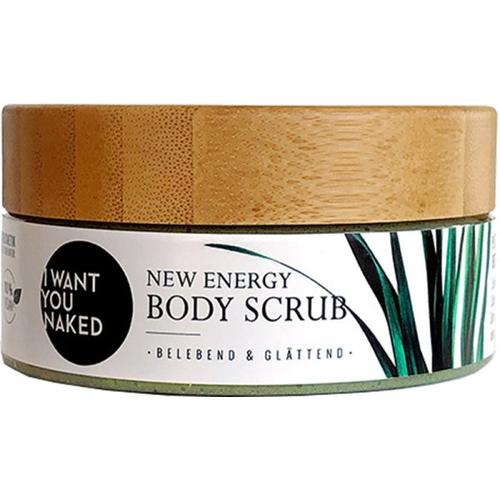 "I Want You Naked New Energy Scrub Körperpeeling ""Zitronengras & Aloe Vera"" 200 ml"