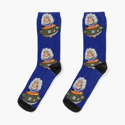 EINSTEIN A GO GO Socken