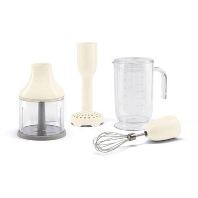 Smeg Küchenmaschinen Zubehör-Set HBAC01CR, (4 tlg.) beige SOFORT LIEFERBARE Haushaltsgeräte