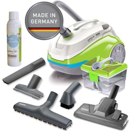Thomas Wasserfiltersauger mit Wasserfilter perfect air feel fresh x3, 1700 W, beutellos, grün/grau weiß Staubsauger Haushaltsgeräte