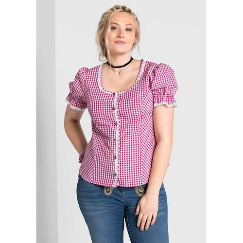 Sheego Trachtenbluse Sheego pink