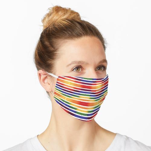 Regenbogenformen 2 Maske