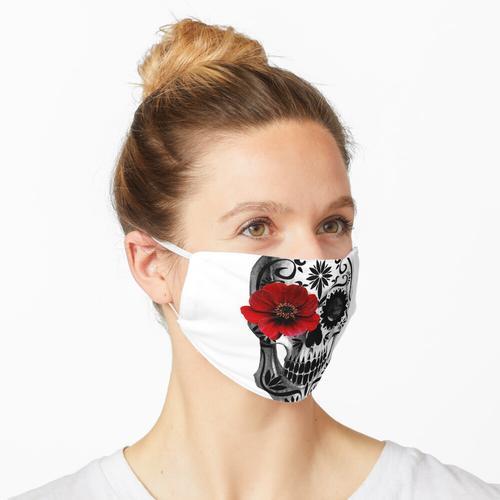 Zuckerschädel Tag der Toten Maske