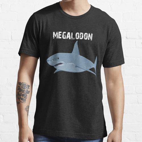 Megalodon Hai - Megalodon Hai-Shirt - Megalodon Hai-Malerei - Hai-Geschenk - Meere Essential T-Shirt