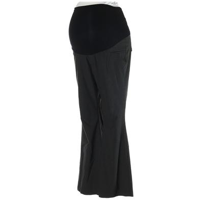 A Pea in the Pod Dress Pants - High Rise: Gray Bottoms - Size Medium Maternity