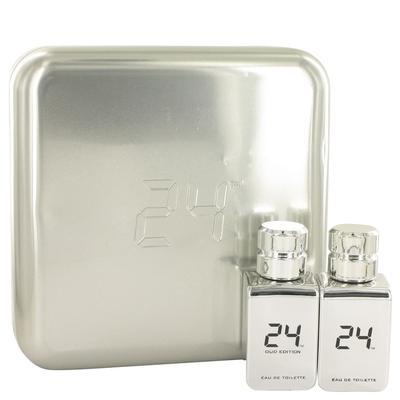 24 Platinum The Fragrance For Men By Scentstory Gift Set - 24 Platinum 1.7 Oz Eau De Toilette Spray