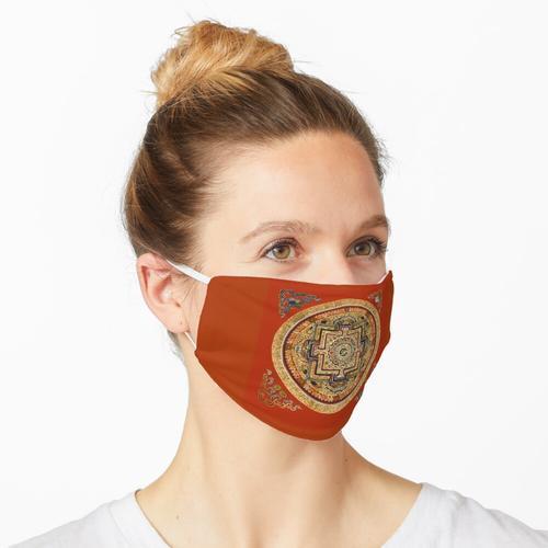 TIBET, Tibetisch, Mandala. Maske