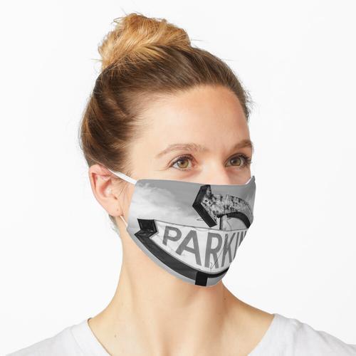 Parkplatz Maske