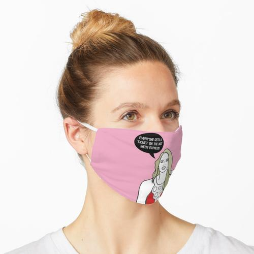 Heißer Mess Express Maske