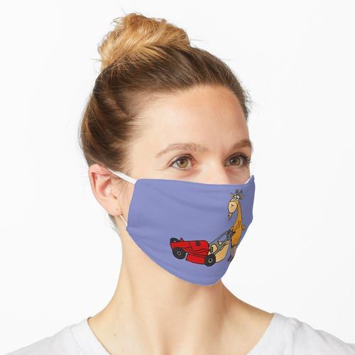 Lustiger Ziegen-Rasenmäher Maske