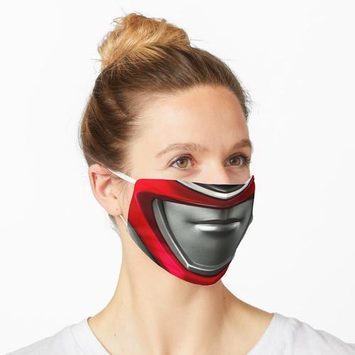 POWER RANGERS - ROTER RANGER Maske