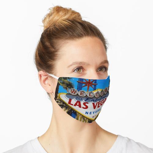 Las Vegas Willkommensschild, Las Vegas, Nevada Maske
