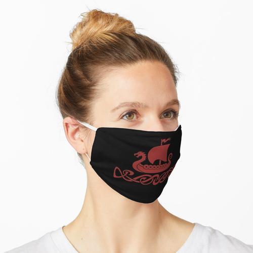 Drachenboot - Rot Maske