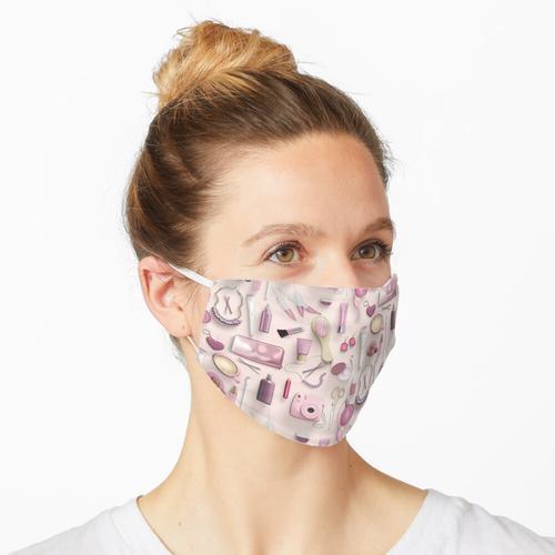 Rosa Schminktisch Maske