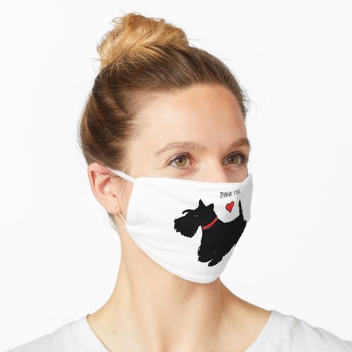 warmes Bett Maske