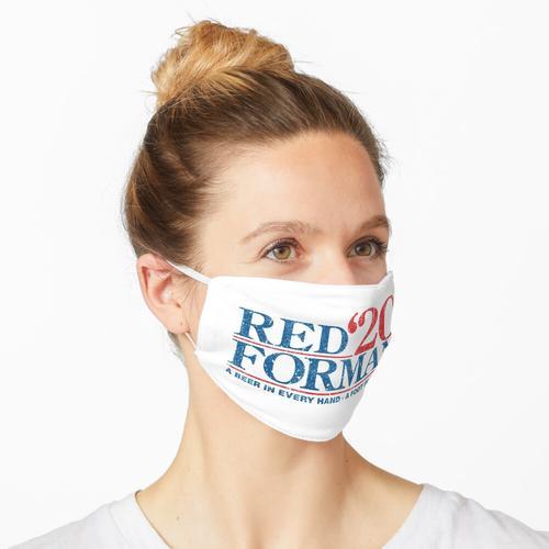 Rote Forman 2020 Maske