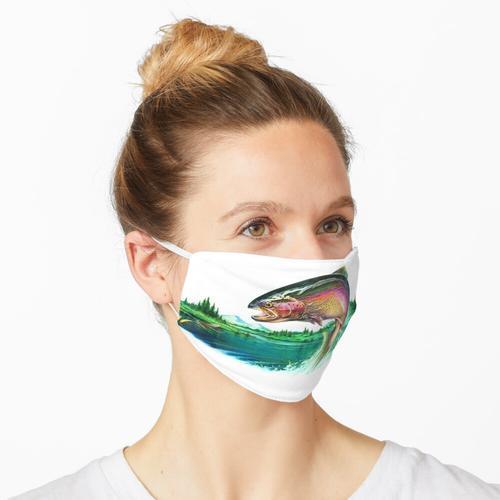 Regenbogenforelle Maske