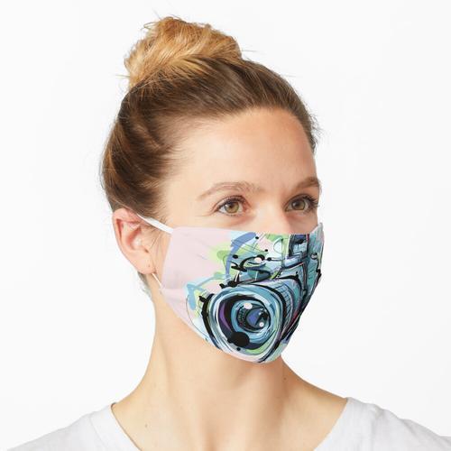 Fotograf Kamera Maske